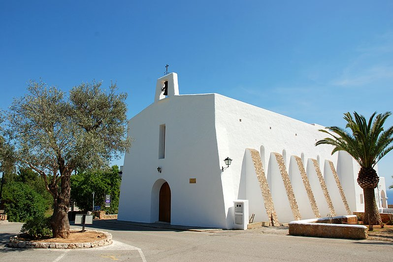 church-ibiza-architecture