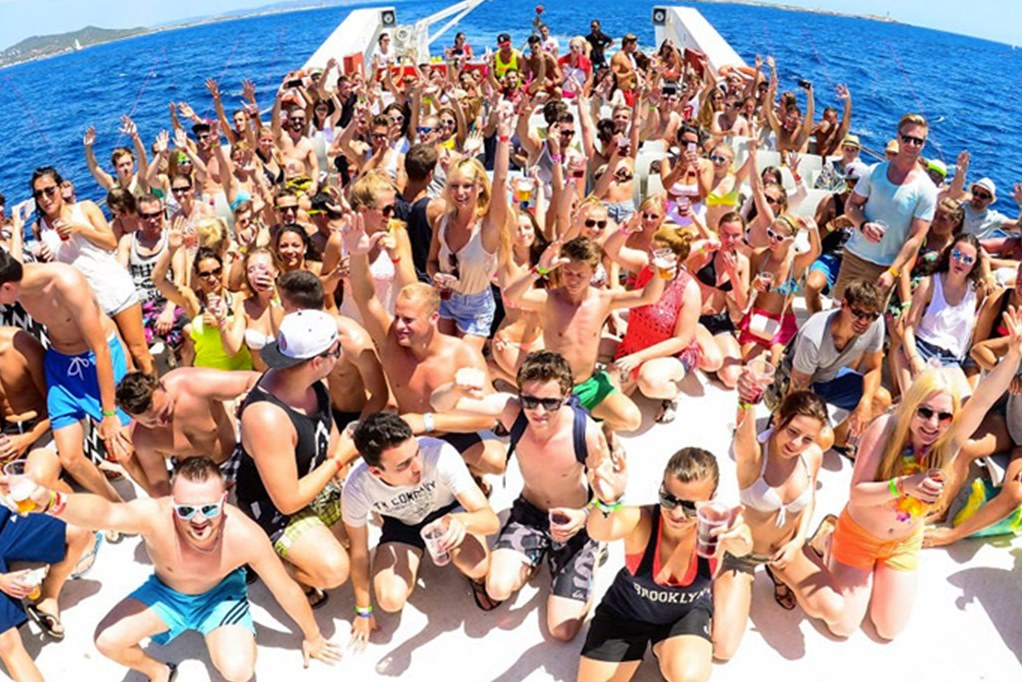 boat party ibiza - Boat Party + Bora Bora