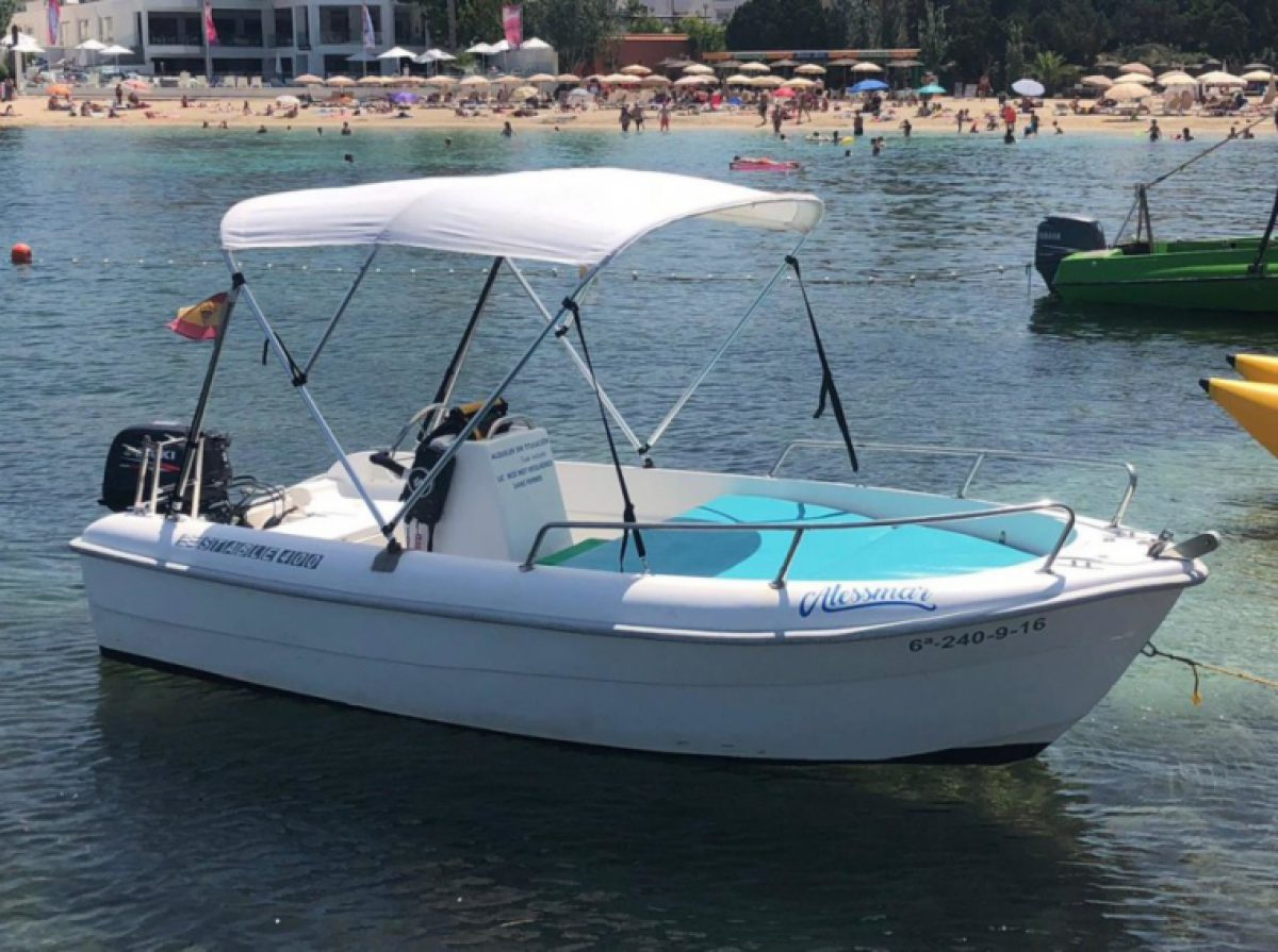 BOAT HIRE IBIZA NO LICENSE