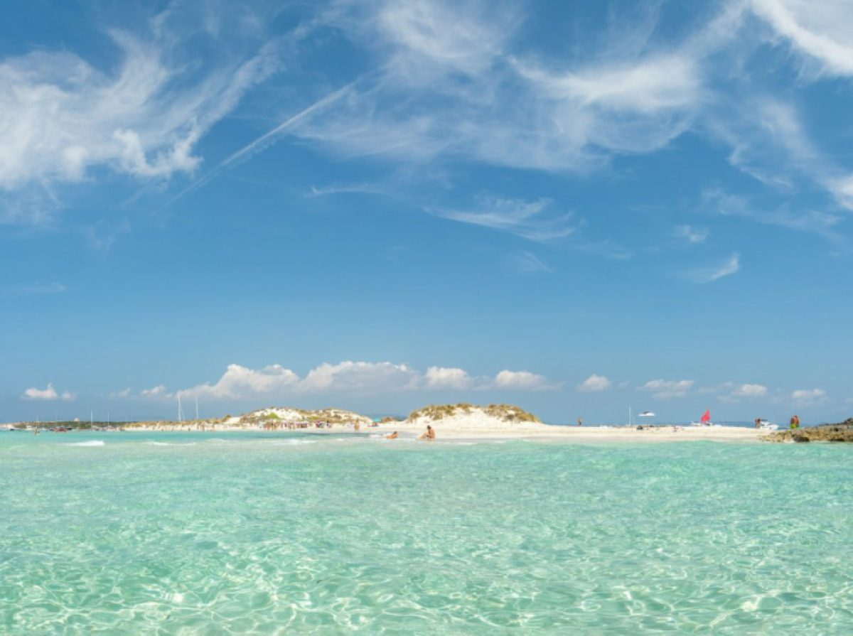 TWO ISLANDS BOAT TOUR Formentera and Espalmador - 89€