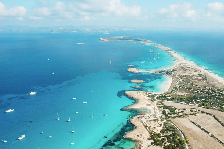 TWO ISLANDS BOAT TOUR - 79€ - FORMENTERA and ESPALMADOR